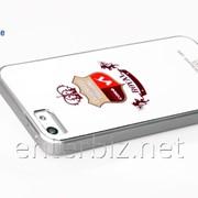 Чехол Hoco for iPhone 5/5S British style Back case (Silvery Diamond) (HI-P010SD), код 46471 фото