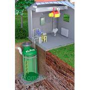 КНС с самовсасывающими насосами подземного исполнения с павильоном обслуживания фото