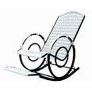 Кресла-качалки на металлокаркасе фото
