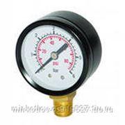 Монометр радиальный 6 бар фото