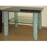 Индивидуальные заказы по производству стеклянной мебели. фото