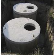 Строительство колодцев, канализаций, септиков под ключ. фото