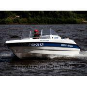 Моторная лодка Бестер 480 open из стеклопластика фото