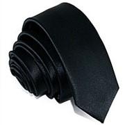 Галстук черный фото