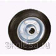 Колесо промышленное без кронштейна С63 (С160) d160 мм для платформенной тележки и складского оборудования фото