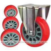 Колесо неповоротное Lema FC1-TPU-125-180-6