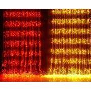Гирлянда Плей-лайт LED XP, 2х3м,6м светодиодный с контроллером красный, желтый