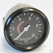 Манометр 1401.3830 давления воздуха (0-10) ГАЗ, ЗИЛ, ЛиАЗ, ВТЗ (АП) фото