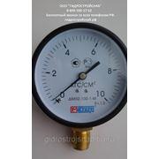 Манометр ДМ02-100-1М (МП100) 0..6,10,16 кг. (поверка 2 года) фото