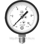 Манометр TM510Р 100 мм; 0…1 бар, G1/2, Тмах=150 °С, кл. 1,5, корп. сталь, механизм-латунь фото
