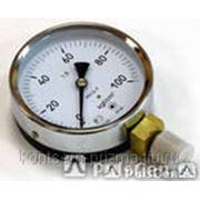Манометр технический (общетехнический) МП2-Уф с осевым штуцером от 0 до 1-6 фото