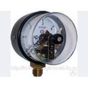 Манометр ДМ2010Ф 0..2,5кгс/см2 электроконтактный фото