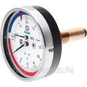 """ТМТБ-31Т.1 (0...120С) (0...0,6МПа) G1/2"""" термоманометр фото"""