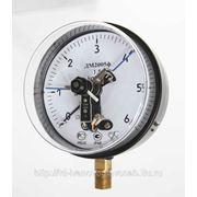 Манометр ДМ2005 Ф 0,,,6кгс/см2 электроконтактный фото