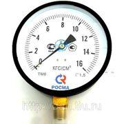 ТМ-610Р.00 (0...1,6кгс/см2) М20х1,5, кл.т.1,5 манометр фото