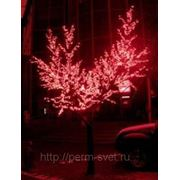 """Светодиодное дерево """"Клен"""" 2.5м 1248 светодиодов IP65 красный свет 220V фото"""