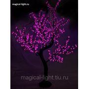 Светодиодное дерево фиолетовое 1.8 м. влагозащищённое