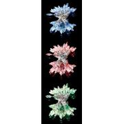 """Гирлянда """"Свечки"""" 50 светодиодов, 5м, АС220-240V IP 65 Синий, красный, зеленый свет"""