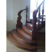 Лестницы деревянные дубовые из бука фото