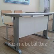 Стол-парта для кабинета физики + 2 стула, Парты школьные фото