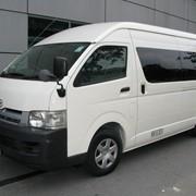 Услуги по перевозке грузов и пассажиров микроавтобусом фотография