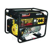 Электрогенератор бензиновый Huter DY6500LX-электростартер с пультом фото