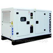 Электростанция дизельная Hyundai DHY28KSE, 400 В, 20 кВт, Электростарт, Альтернатор 184F, 870 кг. фото