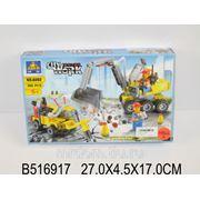 Конструктор 6092 стройка 196 деталей в коробке 27*4,5*17см (835382) фото