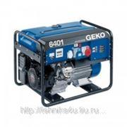 Электрогенератор Geko 6401 ED -AА/HHBA фото