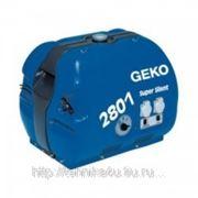 Электрогенератор Geko 2801 E – A/HHBA SS фото