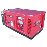 Бензиновая электростанция Europower EPS10000E (8.8 кВт, шумозащитный кожух, электростарт) фото