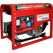 Дизельный генератор Dde Ddg6000-3e фото