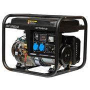 Генератор бензиновый Hyundai HY 7000LE-3 (Электростанция ) фото