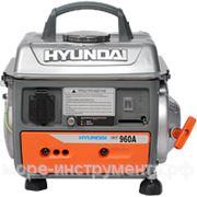 Генератор бензиновый Hyundai HHY960A, 230 В, 0.7 кВт, ручной запуск, 19 кг. фото