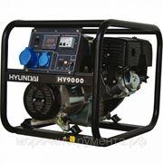 Генератор бензиновый Hyundai HY9000, 230 В, 6.0 кВт, ручной запуск, 71 кг, professional фото