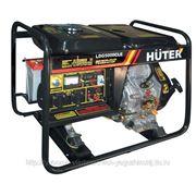Дизельный электрогенератор Huter LDG5000CLE фото