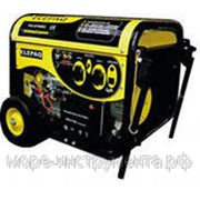Генератор бензиновый Elepaq PG6700 E2,с колесами и аккумулятором фото