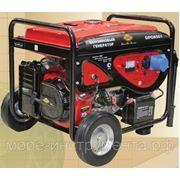 Генератор DDE DPG6501, бензиновый, 220 В, электростартер, 6 кВт, 92 кг. фото