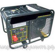 Генератор Бензиновый Elepaq PG11500T, 380 В, 8,5 кВт - 9,5 кВт, с колёсами и аккумулятором фото