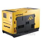 Электростанция дизельная с жидкостным охлаждением KIPOR KDE 20SS3 в звукоизолирующем корпусе KIPOR фото