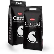 Комкующийся наполнитель для кошачьего туалета Cattia фото