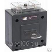 Трансформатор тока ТТИ-60 600/5А 10ВА класс 0,5 ИЭК, шт фото