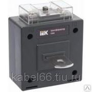 Трансформатор тока ТТИ-85 750/5А 15ВА класс 0,5 ИЭК, шт фото