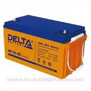 Delta HR12-65 Батарея 12В, 65Ач, 350мм/166мм/174мм фото
