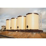 Монтаж резервуаров для воды и нефтепродуктов фото