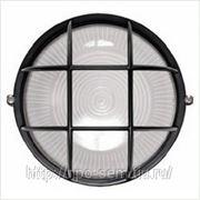 Светильник НПП 1102 круг с решеткой 100Вт IP 54 ИЭК фото