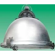 Светильник подвесной промышленный ЖСП 51 стекло+сетка фото