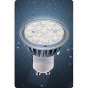 Скидка - 6%. Лампа GU10 4W 2700/4100К FROST фото