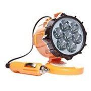 Светодиодный фонарь с зарядкой от сети авто