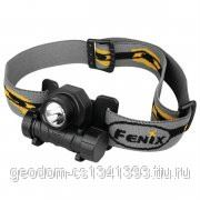 Fenix HL21 (XP-E R) фонарь налобный черный фото